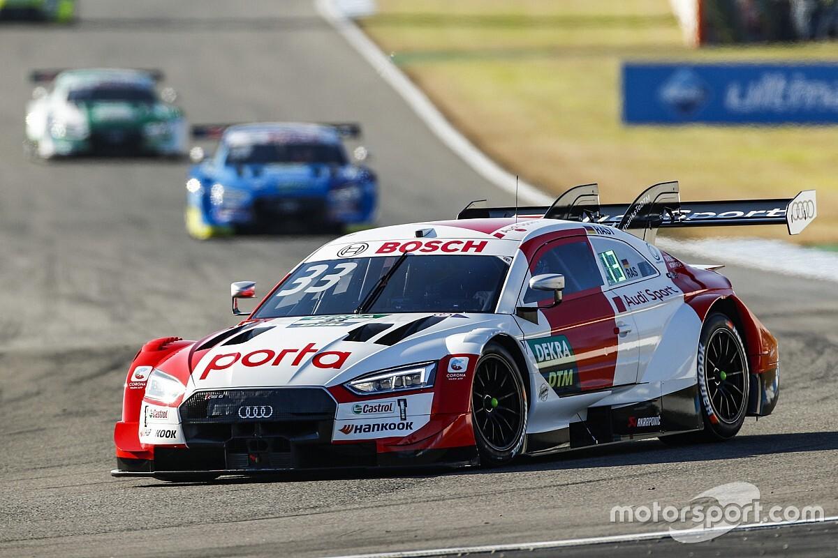 DTM: Rast in Pole per Gara 1 di Hockenheim, titolo ad un passo