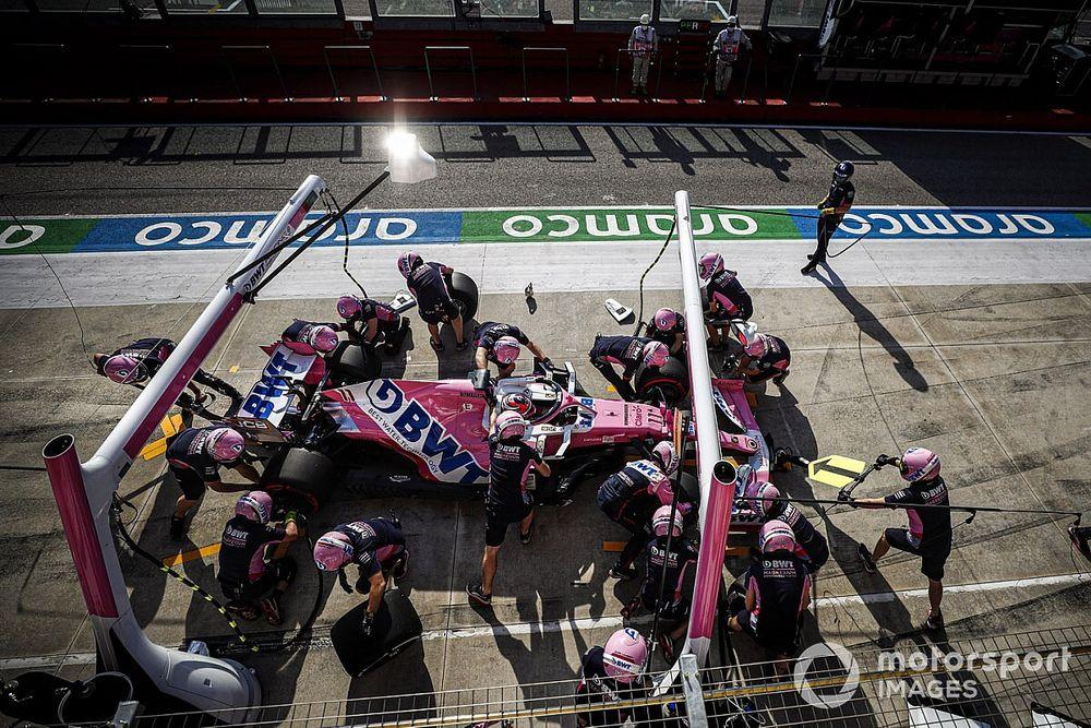 Racing Point justifica su estrategia con Pérez en Imola