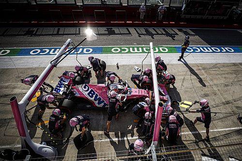 F1: Racing Point defende parada que custou pódio a Pérez em Ímola