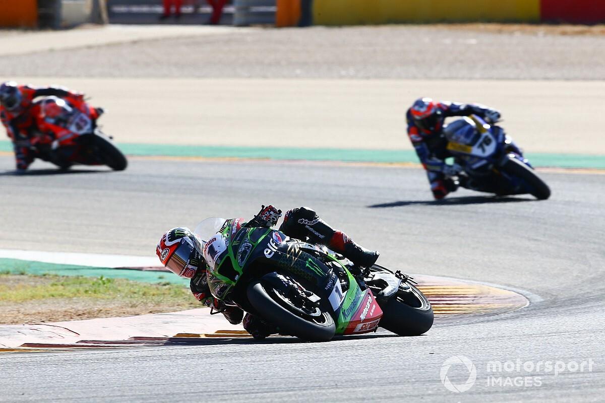 Aragon WSBK: Rea dominates Superpole race
