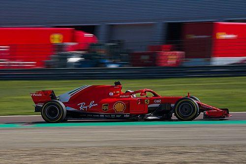 Schumacher et la jeune garde Ferrari en piste à Fiorano