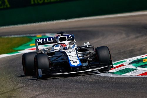 """Russell frustrated to miss Q2 in """"comical"""" Monza qualifying"""