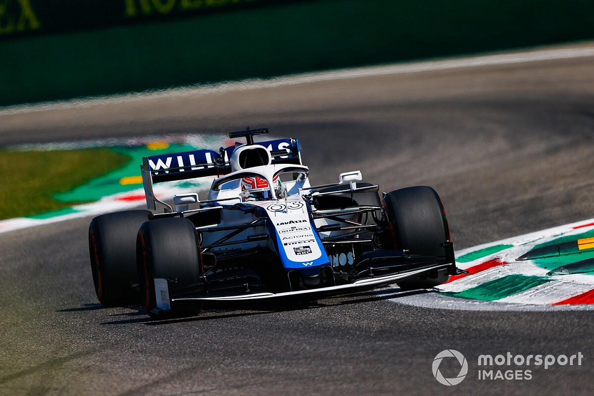 "Russell frustrated to miss Q2 in ""comical"" Monza qualifying"
