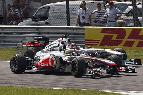 Massa porównał Schumachera i Hamiltona