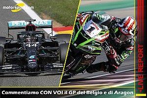 LIVE REPORT: Commentiamo con voi F1 e SBK