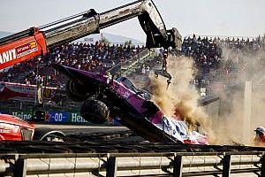 Leclerc és Stroll óriási becsapódása számokban!