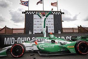 Herta lidera un triplete de Andretti con remontada de O'Ward