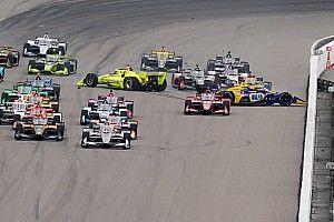 GALERÍA: choque antes de la bandera verde en la carrera 1 en IndyCar
