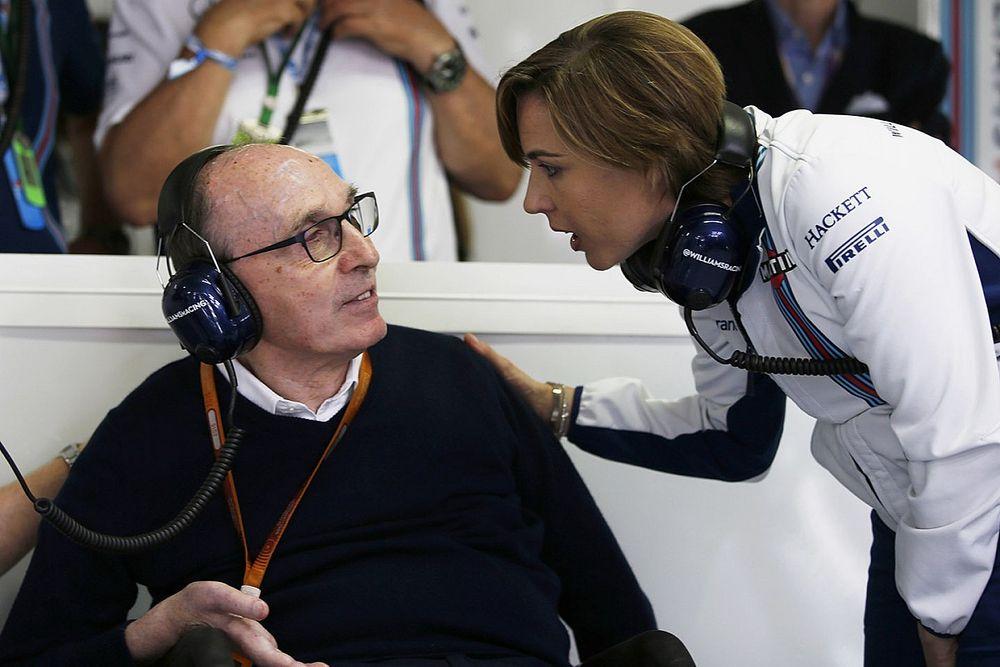 威廉姆斯家族将在意大利大奖赛后退出F1舞台