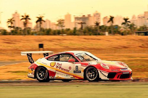 Porsche Carrera Cup: Neugebauer domina treino livre em Goiânia
