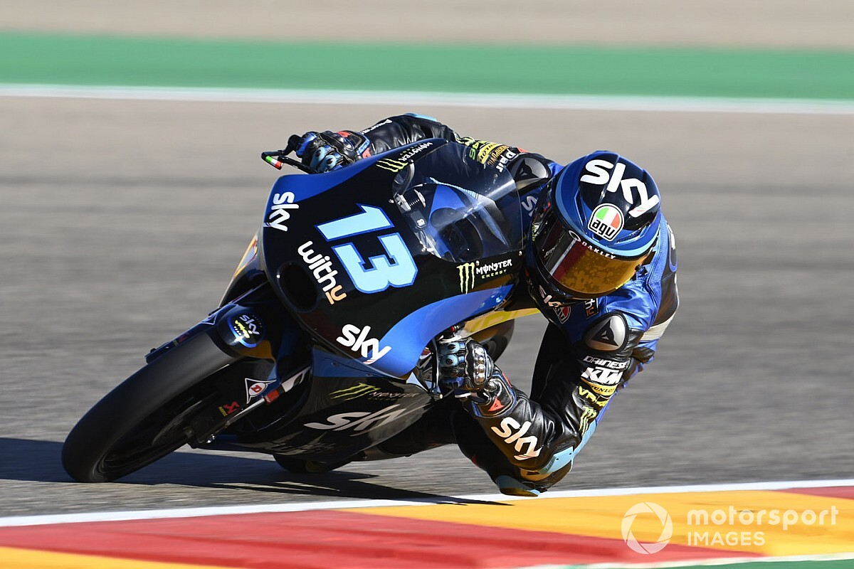 Moto3, Avrupa 2. antrenman: Vietti lider, Deniz 17. oldu