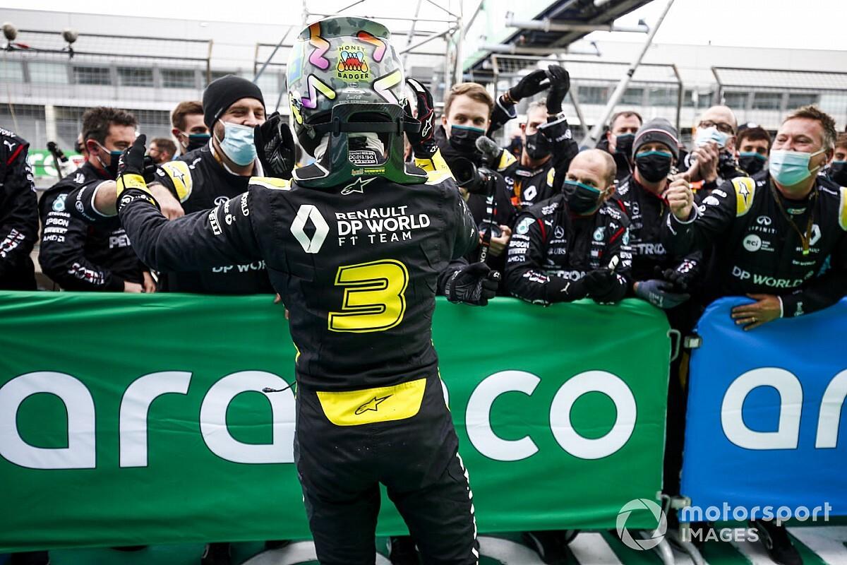 Renault atribuye a Ricciardo el mérito de su avance en F1