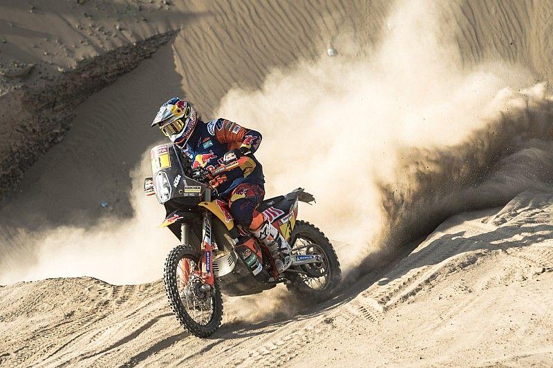 Dakar, Moto, Tappa 8: il motore Honda tradisce Brabec e le KTM ne approfittano
