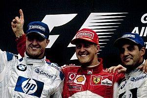 """Ralf Schumacher gunt Hamilton de records van Michael: """"Hij blijft toch uniek"""""""