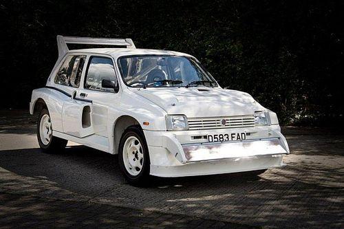 The MG Metro 6R4 Group B car that belonged to an F1 team