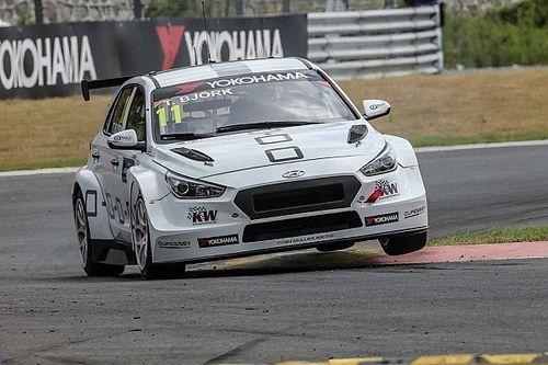 Il dominio Hyundai-YMR porta al successo Thed Björk in Gara 3, Tarquini è secondo e in vetta al campionato