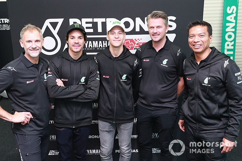 Petronas Yamaha SRT terbentuk hanya enam bulan