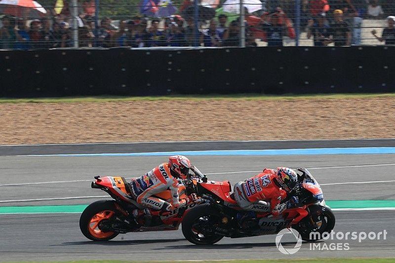 Dovizioso regrets strategy in last-lap Marquez battle