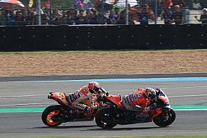Dovizioso regrets strategy in last-lap Marquez battle