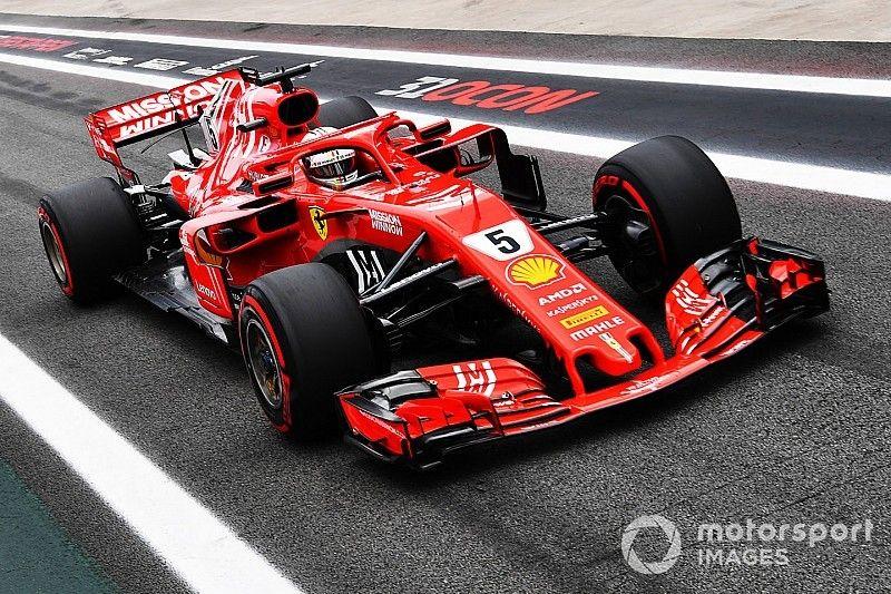 Vettel rijdt weegschaal FIA kapot en moet naar stewards
