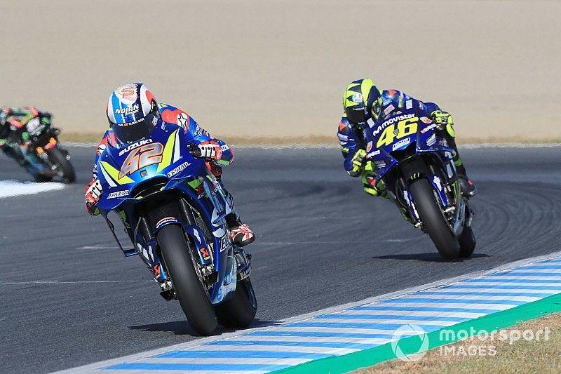 Rossi: Suzuki is stronger than Yamaha now