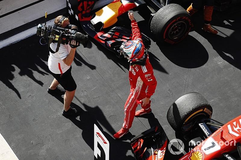 Räikkönen: Boldogabb vagyok, mintha a második helyen értem volna be