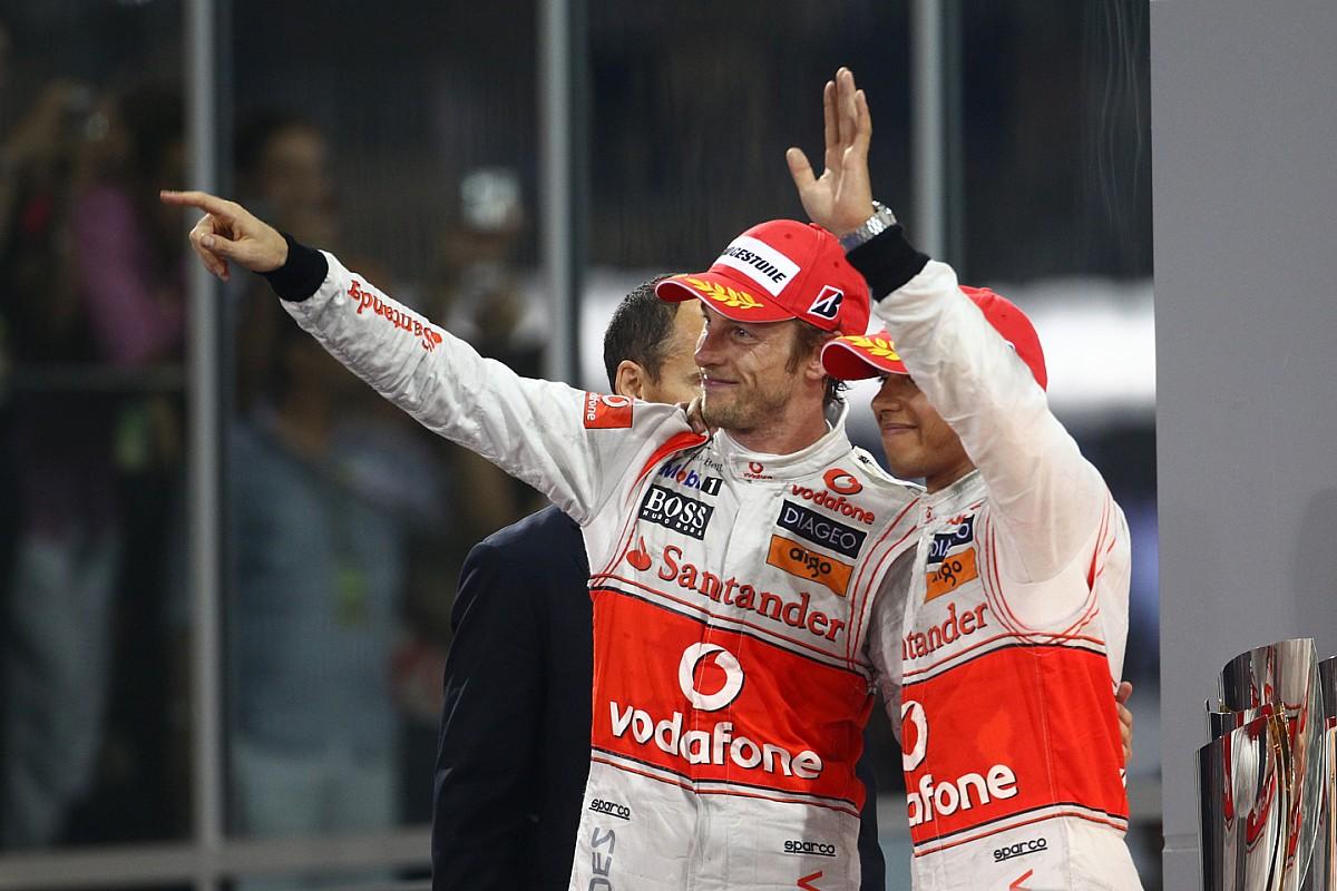 Button, aki egy az egyben legyőzte Hamiltont a McLarennél