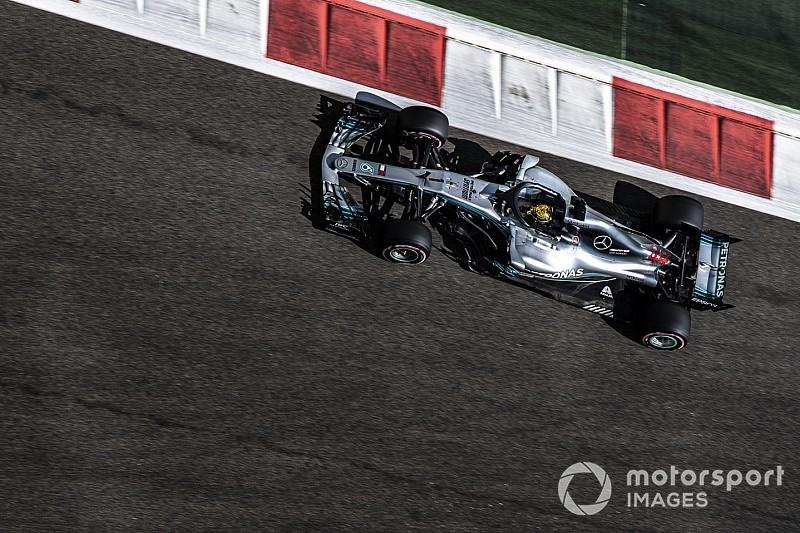 Hamilton lidera último treino livre para o GP de Abu Dhabi