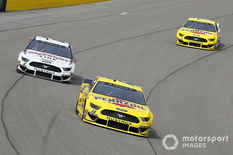"""Keselowski says he was """"a touch too nice"""" to Logano"""