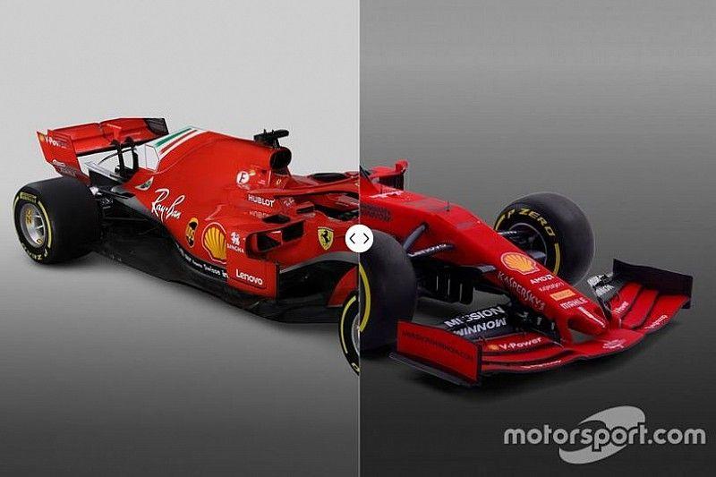 Comparación del Ferrari SF90 2019 vs. 2018