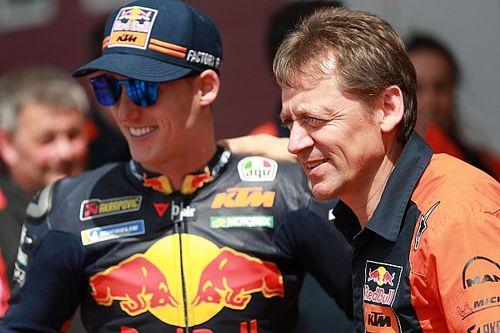 KTM、ホンダ移籍が濃厚なエスパルガロの後任を探す。引退したペドロサの復活は否定