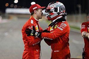 """Vettel behoudt tweede gridplaats: """"Als team naar eerste bocht in Bahrein"""""""