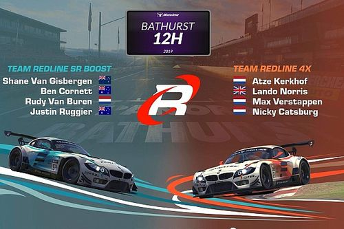 Norris ve Verstappen, Bathurst 12 Saat eSpor yarışını tamamlayamadı