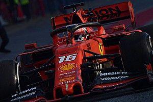 Leclerc cree que los rivales de Ferrari van de farol