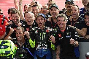 """Rossi: """"Estoy contento con la reacción de Yamaha"""""""