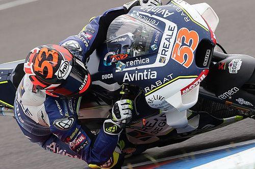 Tito Rabat non ha ancora recuperato al 100% dall'infortunio di Silverstone