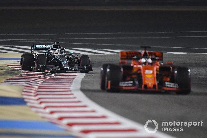Vídeo: el trompo que destruyó la carrera de Vettel en Bahrein