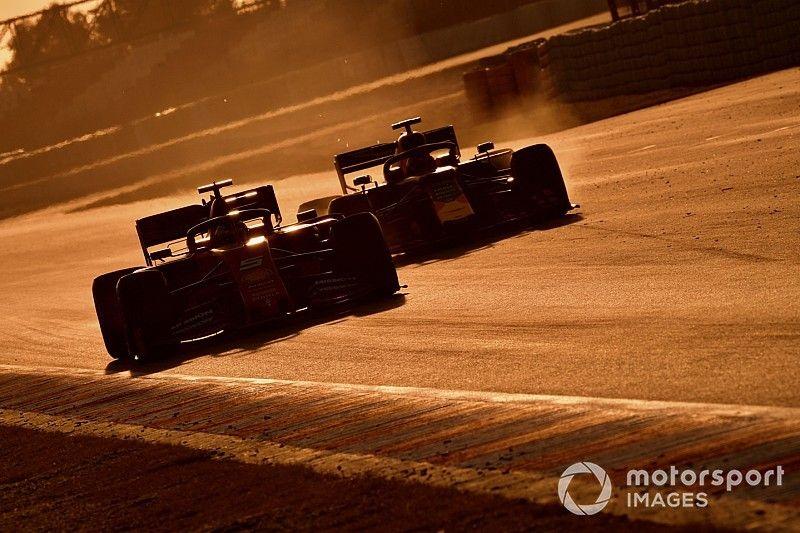 Les F1 2019 plus rapides à Barcelone : Pirelli a une explication