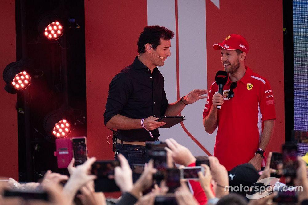 """Webber: """"Huwelijk Vettel en Ferrari is voorbij"""""""
