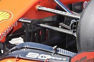Ferrari: il turning vanes sotto al telaio della SF90 ha quattro soffiaggi