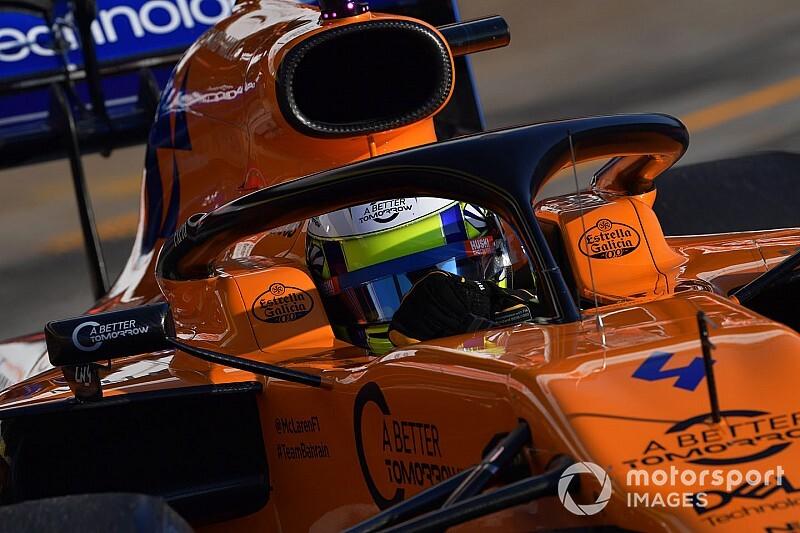 Norris voit McLaren en meilleure position que début 2018