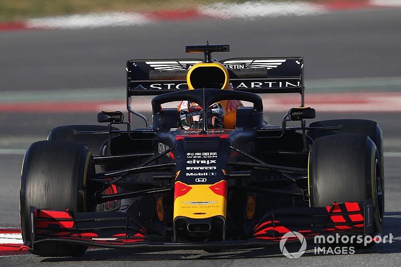 Productieve ochtend voor Verstappen in Barcelona, Vettel vliegt eraf