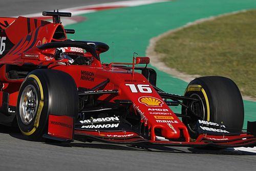 Test F1 Barcellona, Giorno 3: la Ferrari cambia programma. Leclerc gira tutto il giorno!