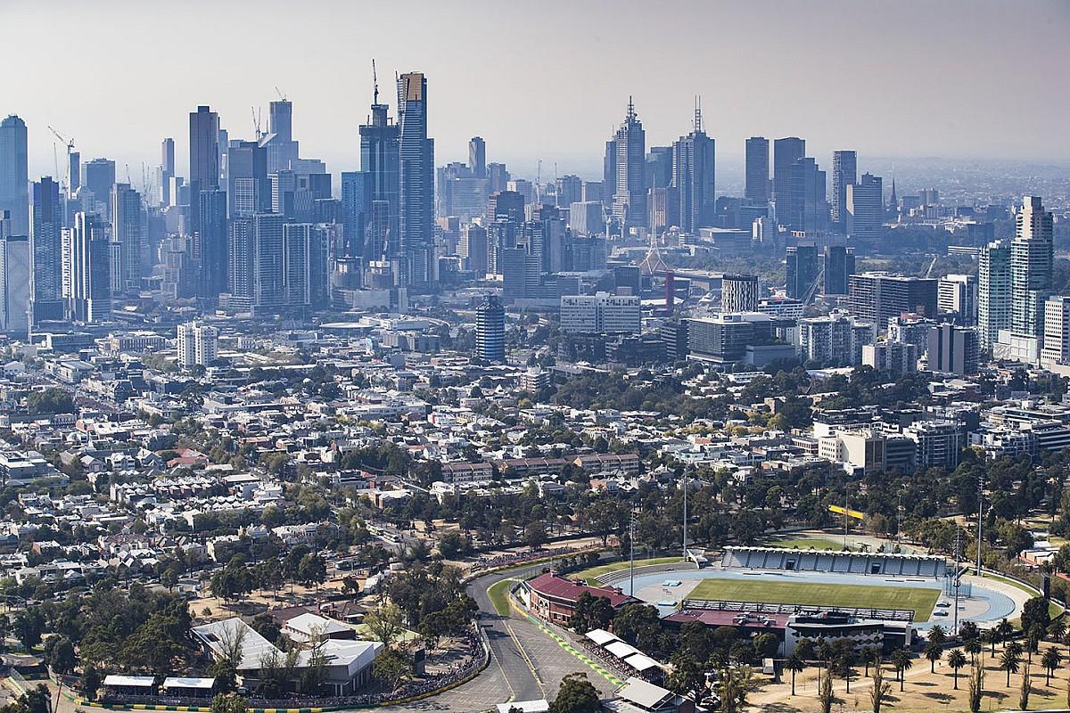 """Incendies: Le GP d'Australie se prépare """"comme si de rien n'était"""""""