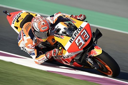 Marquez verpulvert ronderecord in tweede training GP van Qatar