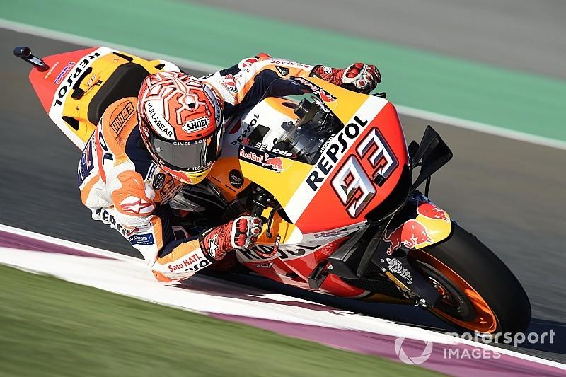 Marquez verpulvert ronderecord in tweede training GP van Qatar