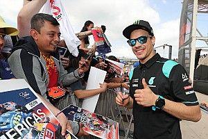 """Morbidelli: """"Me gustaría realizarme como piloto, pero no tener la vida de Márquez o Rossi"""""""