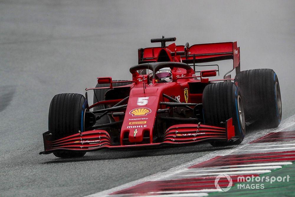 """Vettel: """"Ferrari, olmasını istediğimiz yerde değil"""""""