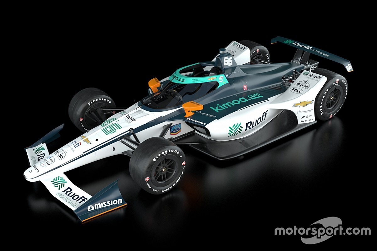 Arrow McLaren SP reveals Alonso's Indy 500 livery