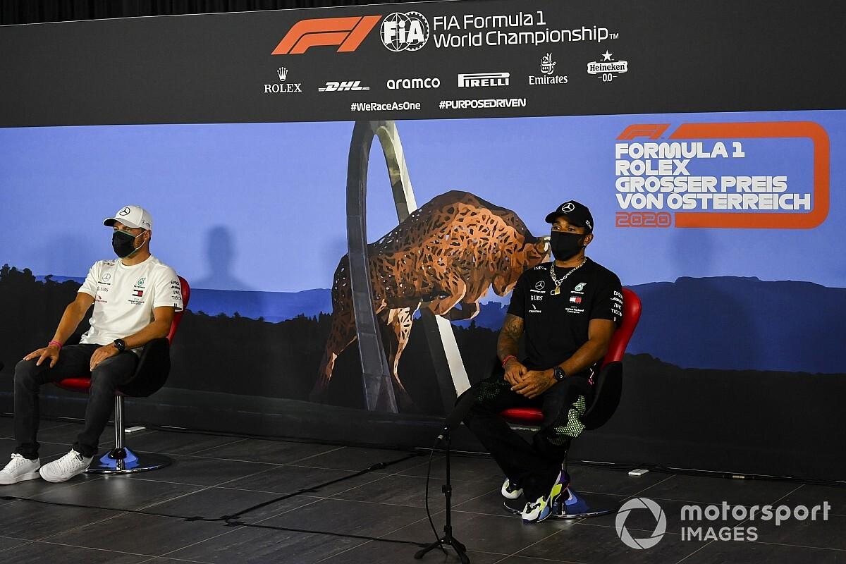 F1 Grand Prix van Oostenrijk: Beste foto's van donderdag